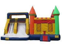 house&pool inflatable slides[IG-104] Manufactures