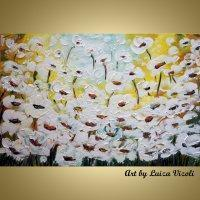 ART CURRENTLY AVAILABLE FIELD of White Flowers Manufactures