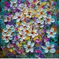 ART CURRENTLY AVAILABLE KIDS ART DAISY FLOWERS Manufactures