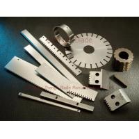 Micronesia Order A foil cutter, serrated bar cutting machine blade, Suzhou chipper knife Manufactures
