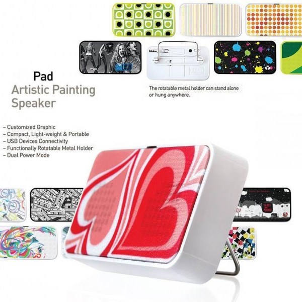 Quality Artistic Painting Speaker for sale