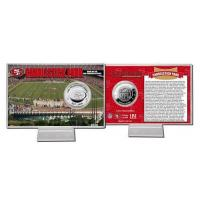 Candlestick Park Silver Coin Card Manufactures
