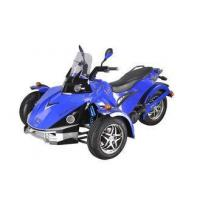 China Blue Three Wheel Quad Bike 250CC With EEC Standard , Off Road Quad on sale