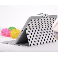 China For iPad mini magnetic wallet case Polka dot case on sale