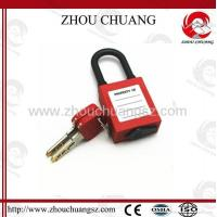 ZC-G15 Nylon Short Shackle Dust-proof ABS Safety Padlock Manufactures