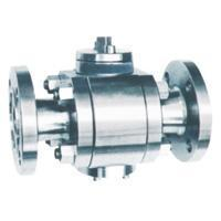 Buy cheap Flange connection floating ball valve from wholesalers