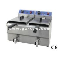Electric Fryer with Valve(Double tanks) Manufactures