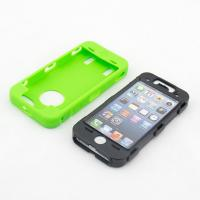 Iphone5 black and white inner PC frame colorful TPU cover case Manufactures