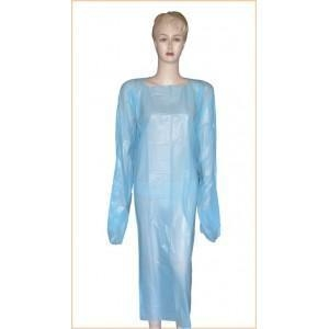 China CPE isolation gown