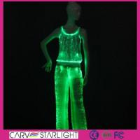 Buy cheap YQ-62-66 light up women tank top & led pants from wholesalers