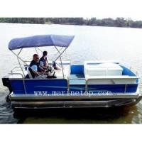 Buy cheap 18ft Aluminum Pontoon Boat from wholesalers