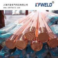 China copper clad steel ground rod on sale
