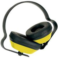 Hearing Protection J Muff Light Duty Ear Defender (SNR 25) - Yellow Manufactures