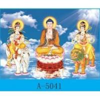 3D lenticular products 3D Buddhist pictures Manufactures