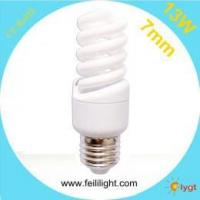 E27 13W Full Spiral Compact Fluorescent Lamp Manufactures