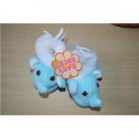 Elephant cartoon cotton bead sole baby prewalker sock shoes Manufactures