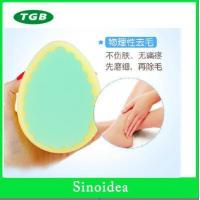 Smile shape kitchen Sponge The goddess recommendation heart-shaped hair sponge round hair removal Manufactures