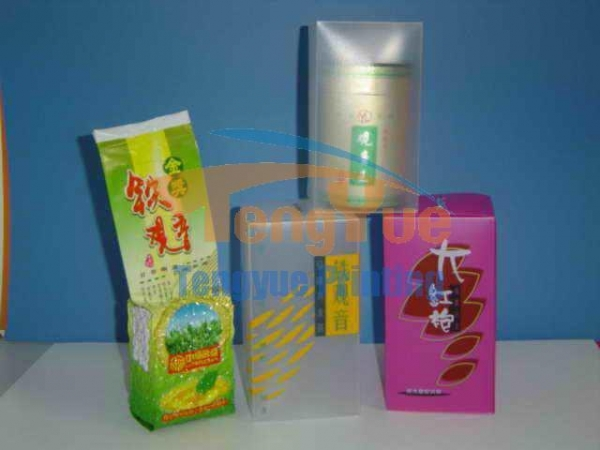 Quality PP silver foil stamping packaging for sale