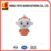 PU Stress Toys 2015 top sell Mini keychain fashion Cartoon action figures for baby toy Manufactures