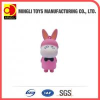PU Stress Toys Hot new products Mini keychain rabbit action figures for baby toy Manufactures