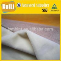 garment dress lining plush toy solid super comfortable crystal velvet fabric manufacturer Manufactures