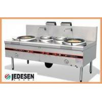 Stainless steel Commercial Kitchen gas stoves, industrial inox steel kitchen wok Manufactures