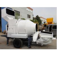 Concrete pump with mixing drum Manufactures