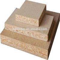 TIMBER wood grain melamined waterproof particle board for sale Manufactures