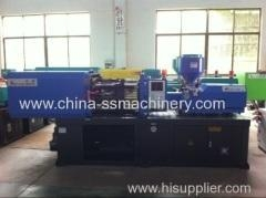 Quality Shuangsheng 70T plastic automatic injection moulding machine with fixed pump for sale
