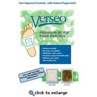China Verseo Detox Foot Pads - 30ct. on sale