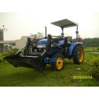 284 model 28HP JINMA tractor garden tractor front end loader with 4 in 1 Front end loader Manufactures