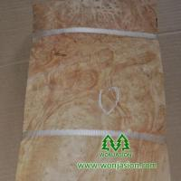 China elm burl wood veneer on sale