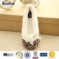 Dance Shoes Suede Fabric Printed Dance Shoes Manufactures