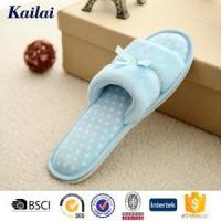 Slippers Coral Fleece Bowknot Open Toe Slipper Manufactures