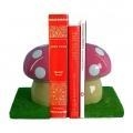 Quality Glossy Mushroom Bookend for sale