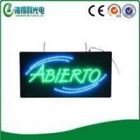 2016 Led abierto sign high quality low price led light box made in Chi... Manufactures