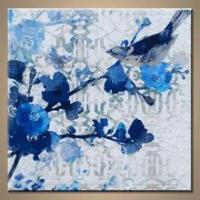 Popular Decorative Handmade Flower Paintings Acrylic Manufactures