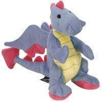 Sherpa Baby Dragon Periwinkle Dog Toy With Chew Guard Go Dog by Sherpa Pet Group LLC. Manufactures