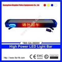 China TBD-GA-8600H LED police car led light bar with led display on sale