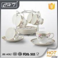 Elegant design wholesale bone china gold tea cup and saucer Manufactures