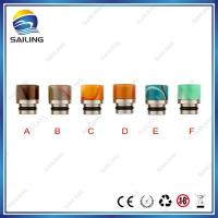 ss+acrylic short drip tip 3# Manufactures