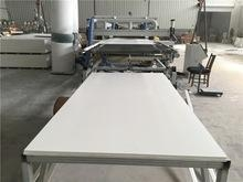 Quality white high density 18mm extruded pvc sheet for cabinet use for sale