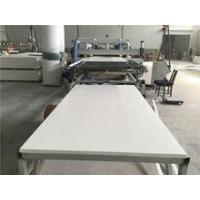 white high density 18mm extruded pvc sheet for cabinet use Manufactures