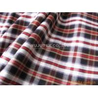 High Quality 180g/sm Twill Check Cotton Yarn Dyed Fabric Clothing Cloth Material Manufactures