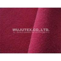 600g/sm Twill Woolen Noble Fall Winter Fabric Clothes Cloth 50% Wool 50% Polyester Manufactures
