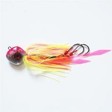 Quality Quality fishing lure lead head fishing rubber jig for sale