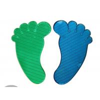 P024 trade assurance supplier promotional PU foot shape sticky mat Manufactures