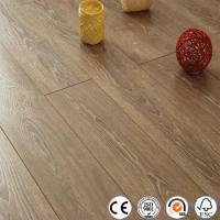 WPC Vinyl Flooring Distressed 12mm collection V groove laminate flooring Manufactures