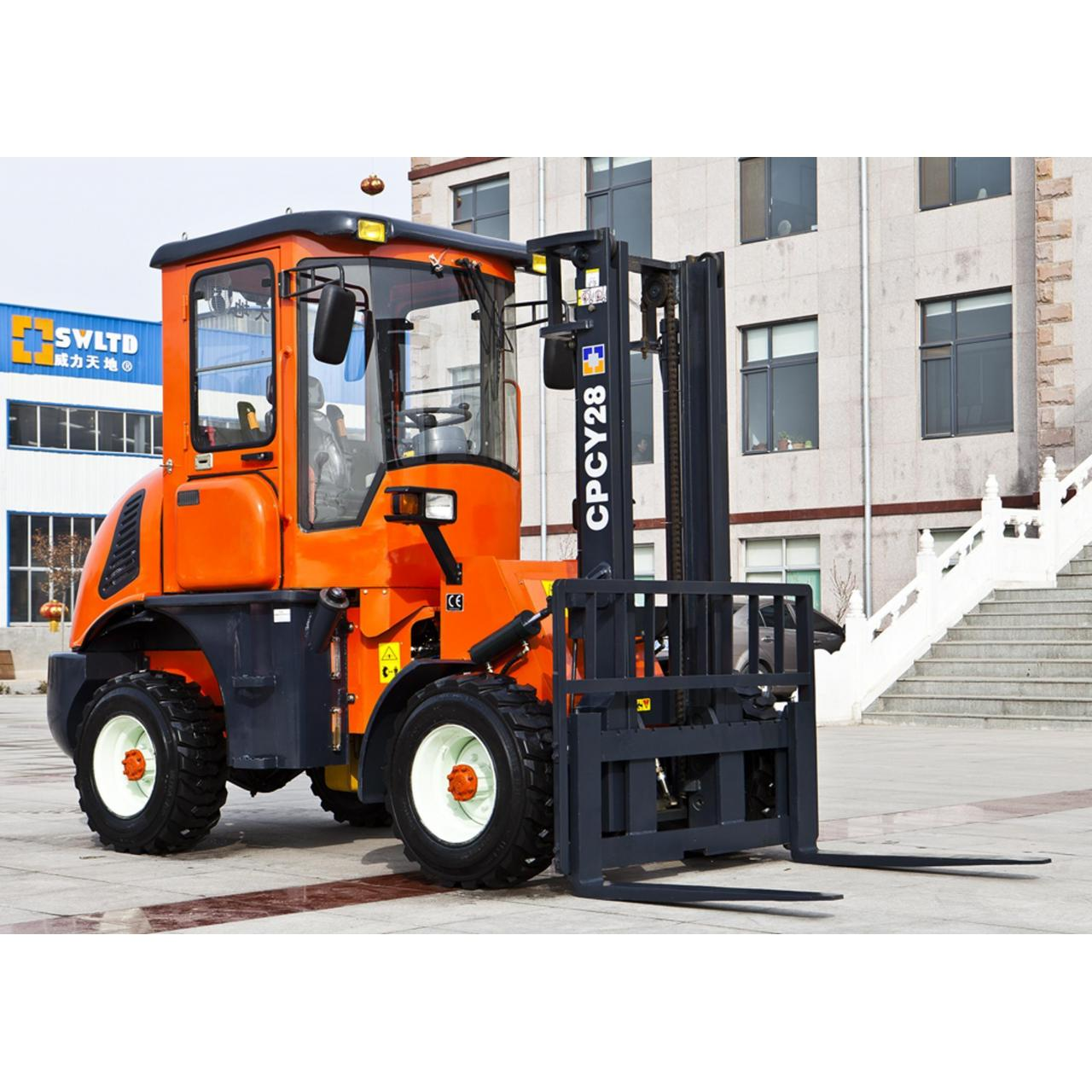 Loader(30) CPCY28 rough terrain forklift Manufactures