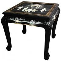 Fine Lacquer Furniture Claw Foot End Table Manufactures